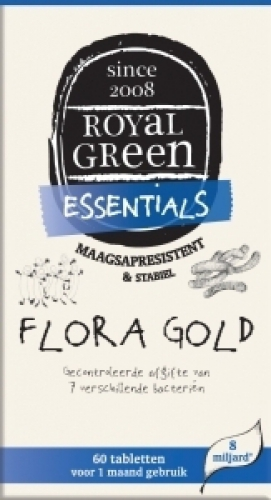 Flora gold 60 tabletten Royal Green