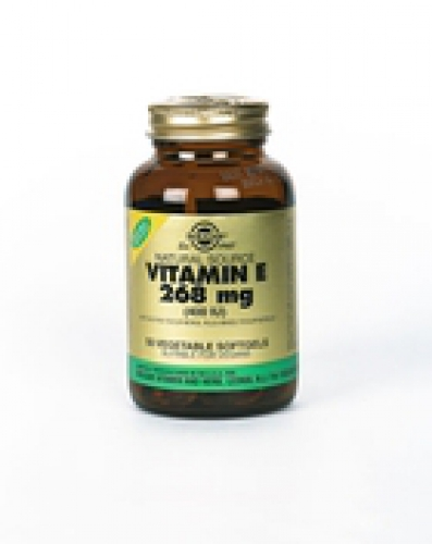 Vitamin E 268 mg / 400 IU Vegan Vegetable softgels 50 Solgar