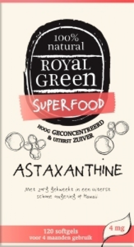Astaxanthine softgels Royal Green