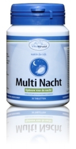 Multi nacht 30/90 tabletten Vitakruid