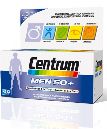 Centrum Men 50+ 30 tabletten