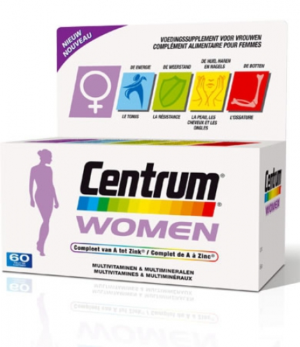 Center woman 90 tablets