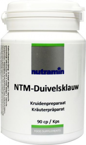 NTM Duivelsklauw 90 capsules Nutramin