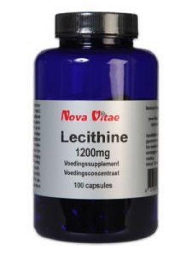 Lécithine 1200mg 100 capsules Nouvelle Vitae