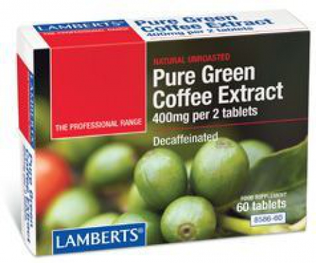 Green coffee extract 60 tablets Lamberts