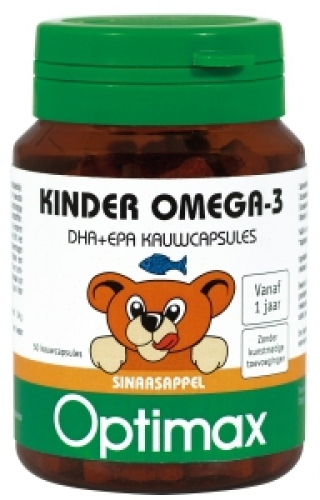 Enfants Omega 3 Optimax capsules 50 à croquer