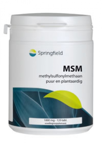 Msm lignisul 1000mg 120 v-capsules Springfield