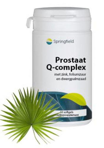 Prostate q complex 60 softgels Springfield