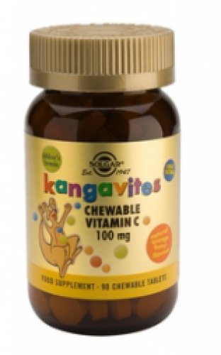 Kangavites C 100 mg Chewable Tablets 90 Solgar