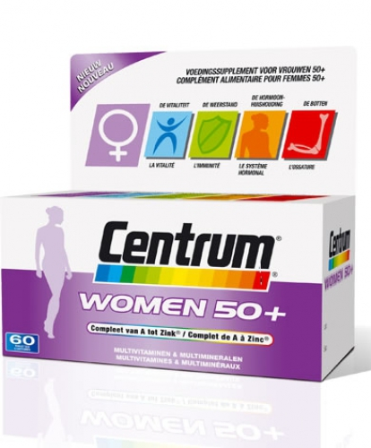 Center woman 50+ 30 tablets