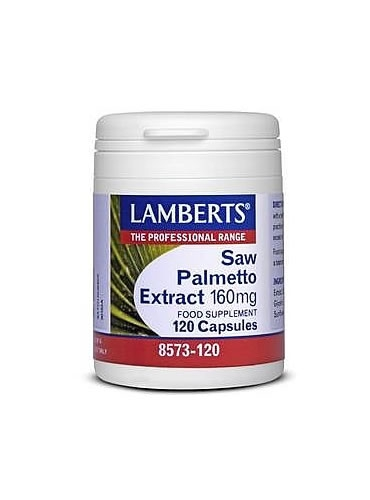 Extrait Sabal (saw palmetto) 160mg 120caps Lamberts