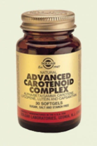 Advanced carotenoid complex 30softgels Solgar