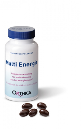 Multi Energie 60 softgels Orthica