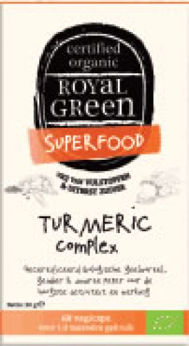 Kurkuma 60 softgels Royal Green