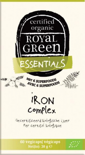 Iron complex 60 vegicaps Royal Green