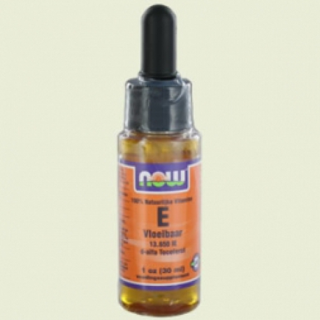 Vitamine E liquid 13650ie 30ml NOW