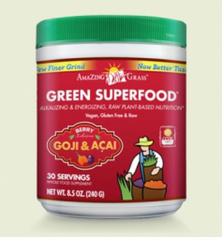 Goji acai berry Amazing Grass Green Superfood