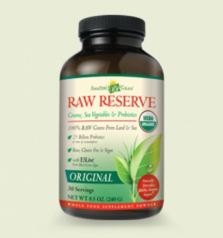 RAW Reserve green superfood Amazing Grass