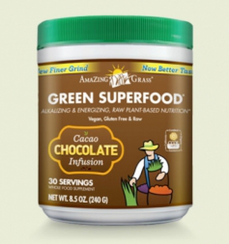 Chocolate Amazing Grass Green Superfood