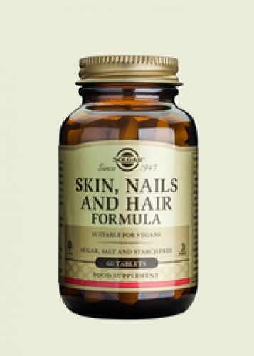 Hair skin & nails adv. msm formula Solgar