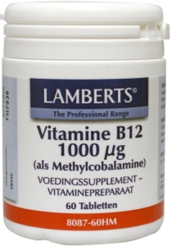 Vitamin B12 methylcobalamin 1000mcg 60 tablets Lamberts