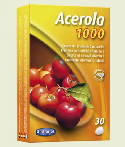 Acerola 1000 Tabletten Orthonat