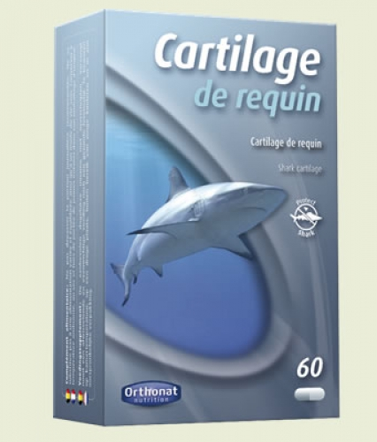 Cartilage de requin 60 capsules Orthonat