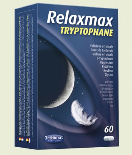 Relaxmax max Tryptophane 60 capsules Orthonat