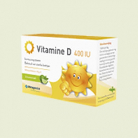Vitamine D3 400IU 84 tabletten Metagenics