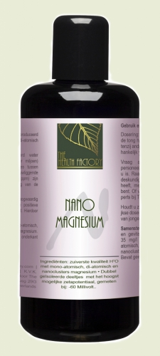 Nano mineraal magnesium (35ppm) The Health Factory