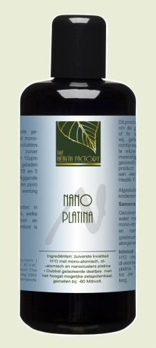 Nano mineraal platinum The Health Factory
