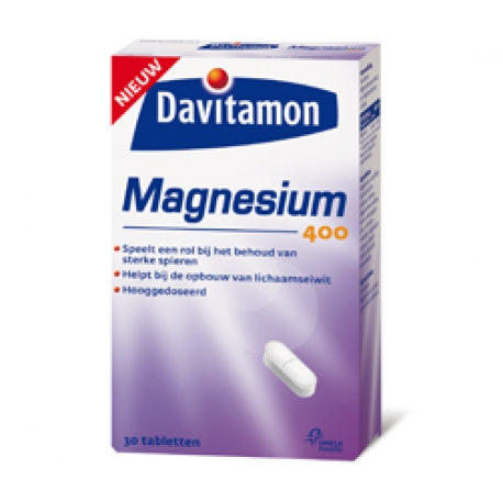 Magnesium 400 mg 30 caps Davitamon