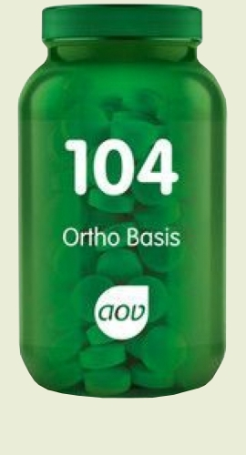 104 Ortho Basis multi-vitamine 270 capsules AOV