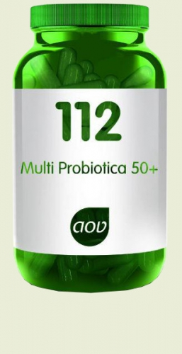 112 multi probiotics 50 plus 60 capsules AOV