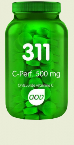 311 C-Perfect Vitamin C Calcium / Magnesium 60 tablets AOV