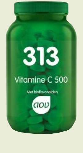 313 Vitamin C 500 mg 100 cap. AOV