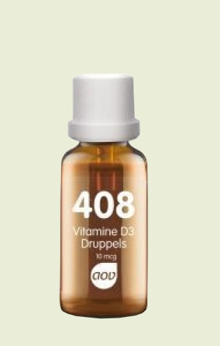 408 Vitamin D3 drops (400iu) 10mcg AOV 25ml