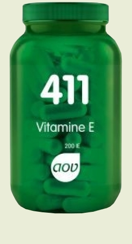 411 Vitamin E (200ie) 268mg capsules natural 100 AOV