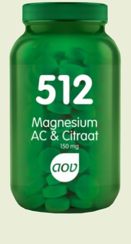 512 Magnesium AC 150mg 60 tabletten AOV