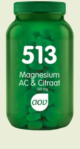513 AC Magnesium 180 tablets 150mg AOV