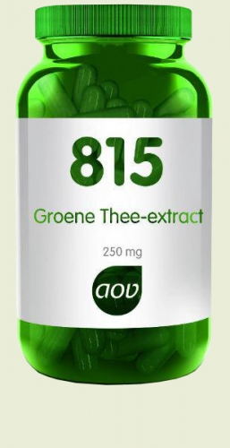 815 Green Tea Extract 250mg 180 capsules AOV