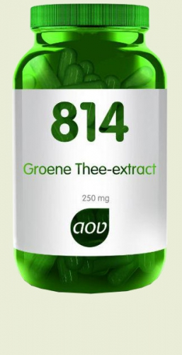 814 Groene thee extract 250mg 60 capsules AOV