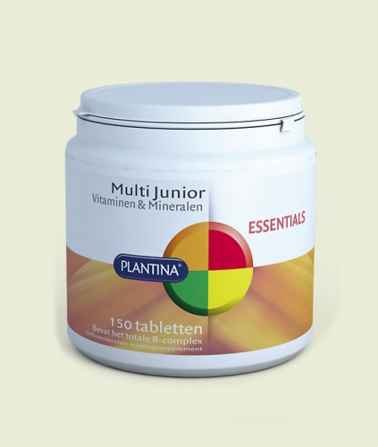 Plantina ajustement multivitamine juniors