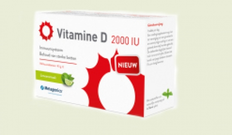 Vitamin D3 2000IU 84 tablets Metagenics