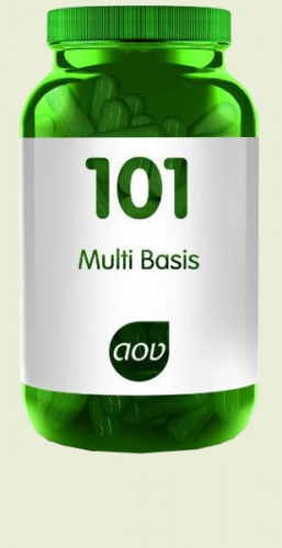 101 multi Basic 60 capsules AOV