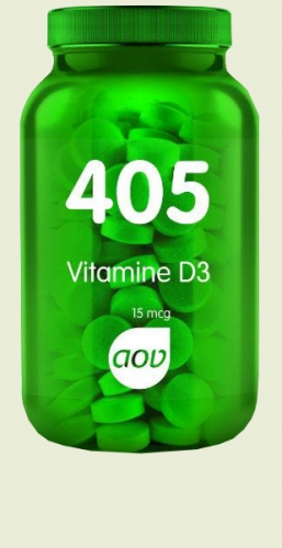 405 Vitamin D3 (600iu) 15 mcg 180 tablets AOV