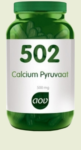 502 pyruvate de calcium 500mg 60caps AOV