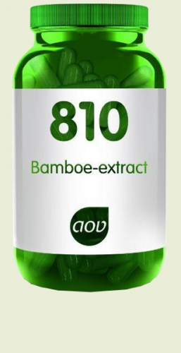 810 Bamboo extract 90 capsules AOV