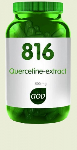 816 Quercetine extract 500 mg 60 v capsules AOV