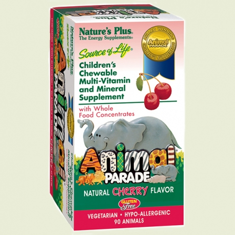 Animal Parade 90 cherry chewable Natures Plus